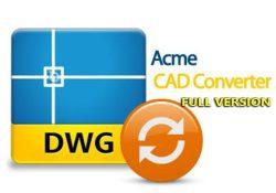 Acme CAD Converter 2019 v8.9.8.1489 – Chuyển đổi định dạng file CAD