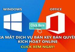 Bán Key Windows 10 Pro và Office bản quyền giá rẻ chỉ từ 200K