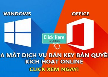 ban key windows 10, key office 2016, 2013, 2010 ban quyen kich hoat online