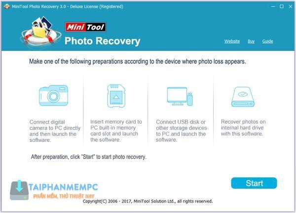 MiniTool Photo Recovery 3 1