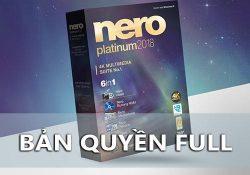 Nero Platinum 2018 Suite 19.0.10200 F.U.L.L bản quyền + Content Pack