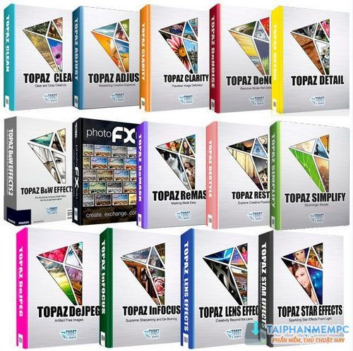 Topaz Plug-ins Bundle for Photoshop 1