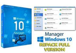 Windows 10 Manager v3.0.8 mới nhất – Tăng tốc và tối ưu Windows 10