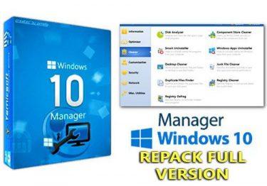 Windows 10 Manager v2.3.6.1 F.U.L.L – Tăng tốc và tối ưu Windows 10