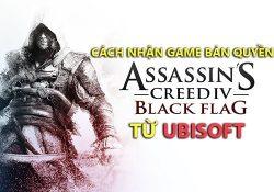 Cách nhận Assassin's Creed IV Black Flag Full đang được Ubisoft tặng