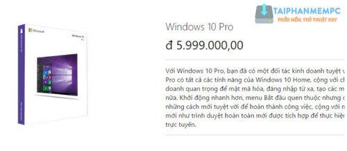 phan biet windows 10 pro va home 1