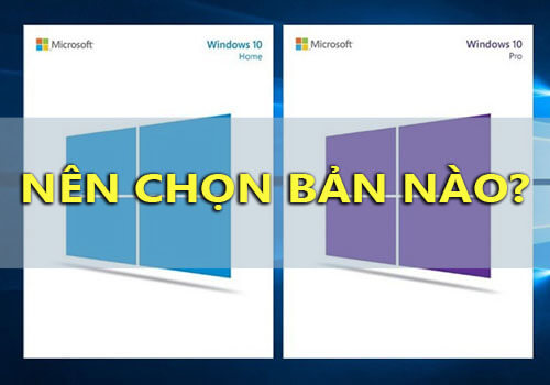 phan biet windows 10 pro va home