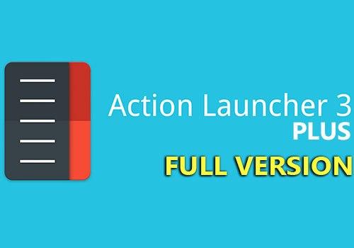 action launcher 3 plus patched apk