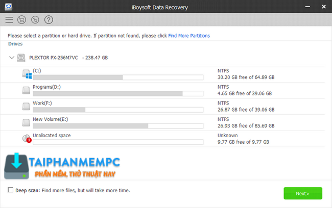 iBoysoft Data Recovery v2 0 - Khôi phục dữ liệu đã xóa + Key bản quyền