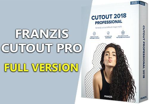Franzis CutOut Pro 2018