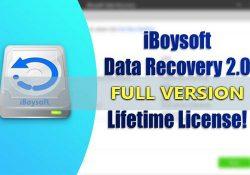 iBoysoft Data Recovery v2.0 – Khôi phục dữ liệu đã xóa + Key bản quyền