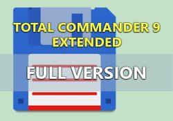 Total Commander 9.22a Extended 19.7 F.U.L.L bản quyền miễn phí