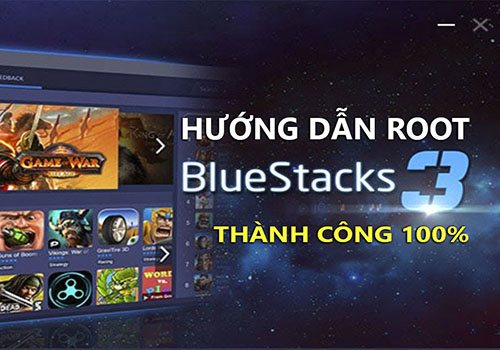 cach root bluestack 3
