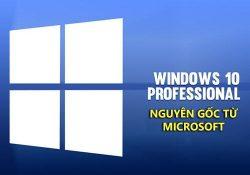 Chia sẻ bộ cài Windows 10 Pro Only 1709 nguyên gốc từ MS