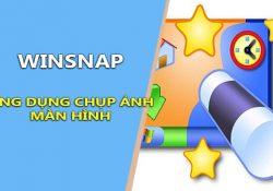 WinSnap 4.6.2 F.U.L.L mới nhất – Ứng dụng chụp ảnh màn hình miễn phí