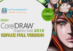 CorelDRAW Graphics Suite 2018 20.0.0.633 F.U.L.L bản quyền miễn phí