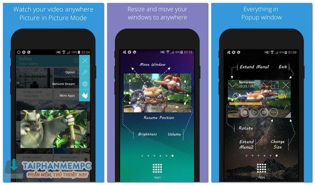 Lua Player Pro v1 8 0 F U L L APK - Xem video nổi trên màn hình Android