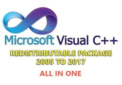 Microsoft Visual C++ 2005 to 2017 Redistributable Package Update 1/2019