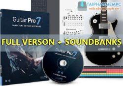 Guitar Pro 7.5.1 Build 1454 F.U.L.L + Soundbanks – Phần mềm học ghi ta