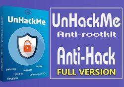 UnHackMe 9.98 Build 710 F.U.L.L – Diệt malware chuyên nghiệp