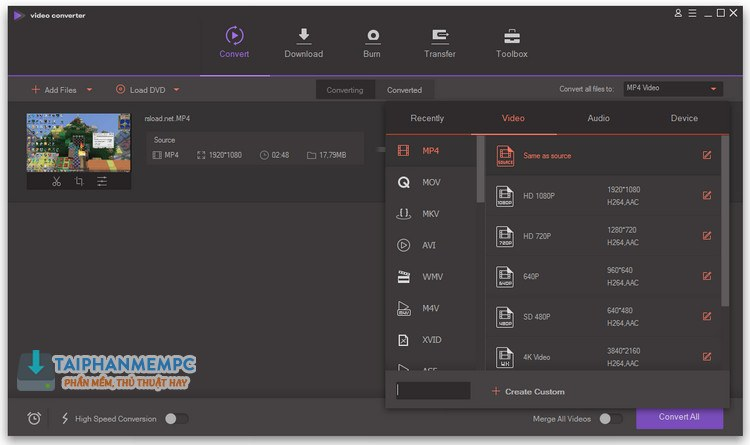 wondershare video converter ultimate 1