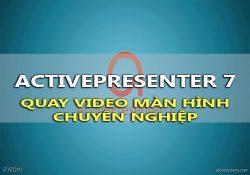 ActivePresenter Pro 7.3 F.U.L.L – Phần mềm quay video màn hình chuyên nghiệp