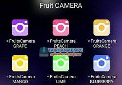 Mời tải trọn bộ ứng dụng Fruits Camera giúp bạn chụp ảnh tự sướng siêu đẹp