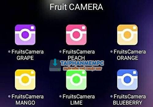tai tron bo ung dung fruits camera