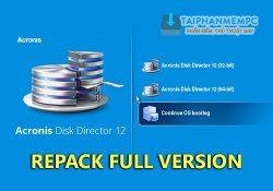 Acronis Disk Director 12 Build 12.0.96 F.U.L.L – Quản lý phân vùng ổ cứng