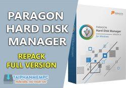 Paragon Hard Disk Manager 16.23.1 F.U.L.L – Quản lý phân vùng ổ cứng