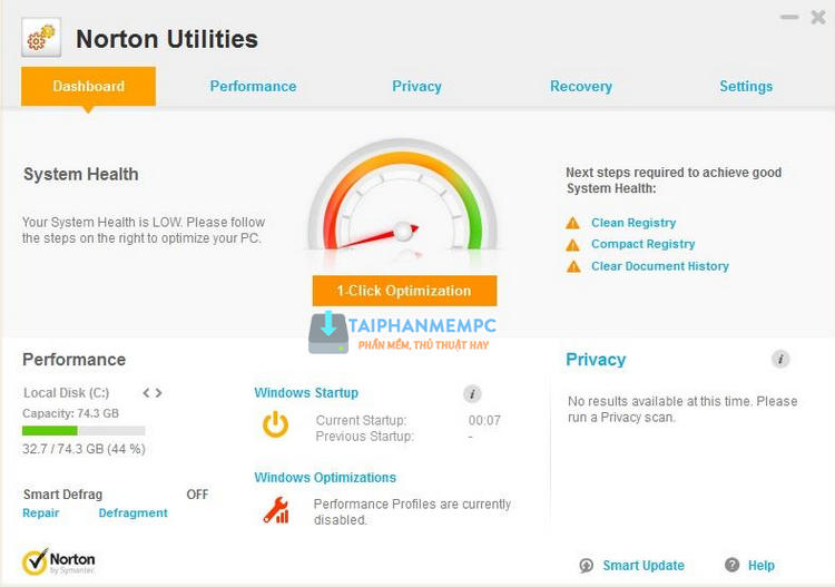 symantec norton utilities 1
