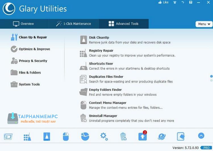 glary utilities pro 1