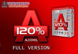 Alcohol 120% 2.0.3.11012 mới nhất – Tạo ổ đĩa ảo mạnh mẽ