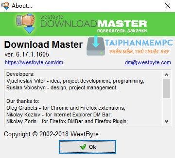 download master 6 2