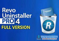 Revo Uninstaller Pro 4.1.0 mới nhất – Xoá chương trình chuyên nghiệp