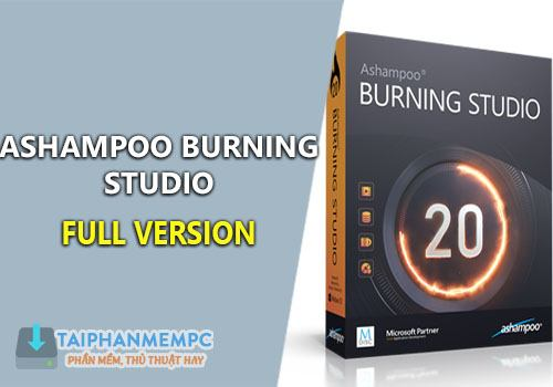 ashampoo burning studio 20