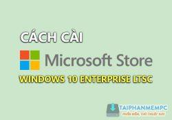 Cách cài Store và Edge trên Windows 10 Enterprise LTSC 2019 đơn giản