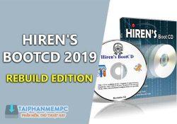Hiren's BootCD PE 2019 Rebuild – Boot cứu hộ máy tính phiên bản 2019