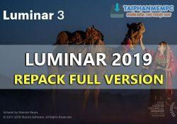 Luminar 2019 v3.1.1.3300 mới nhất – Chỉnh sửa ảnh chuyên nghiệp
