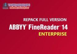 ABBYY FineReader 14.0.107.232 Enterprise – Xem, chỉnh sửa file PDF