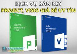 Bán key Visio/Project 2019, 2016 Pro giá rẻ chỉ từ 200k
