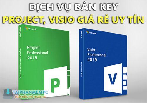 ban key visio 2019 project 2019, 2016 pro ban quyen vinh vien gia re uy tin