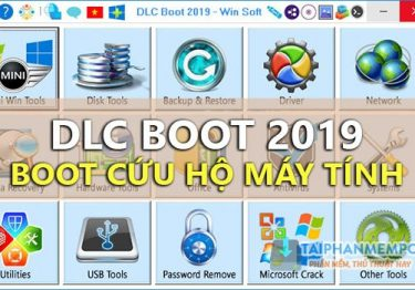 Mời tải DLC Boot 2019 v3.5 mới nhất – Bộ cứu hộ máy tính chuyên nghiệp