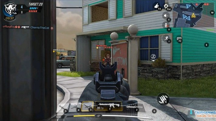 choi call of duty mobile tren dien thoai android khong fake ip 5
