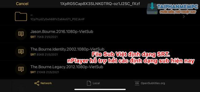cach them sub viet ngoai tren nplayer 4