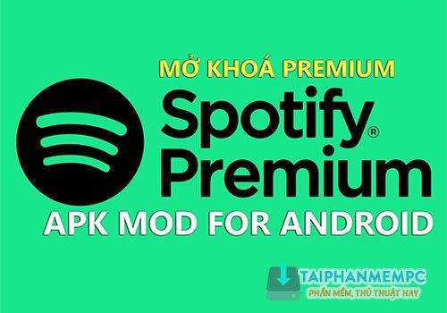spotify music premium mod apk android