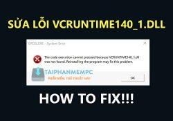 Cách sửa lỗi VCRUNTIME140_1.dll trên Office, lỗi thiếu file *.dll Office